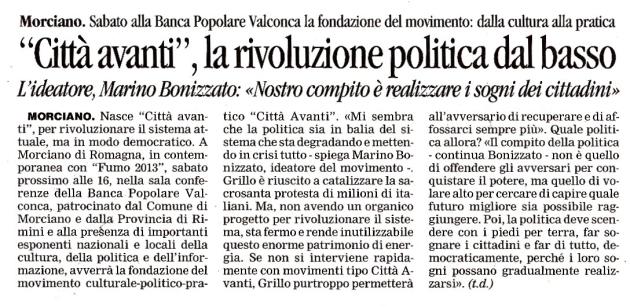Corriere della Romagna - 23 luglio 2013