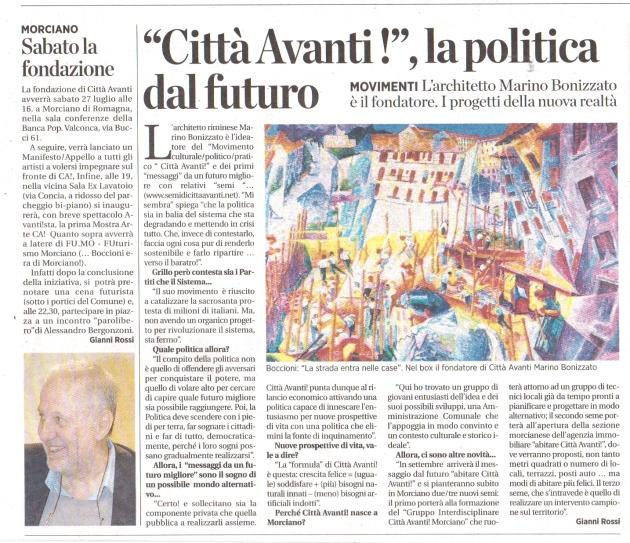 la Voce / Romagna - 25 luglio 2013