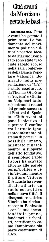 Corriere Romagna 30 luglio 2013