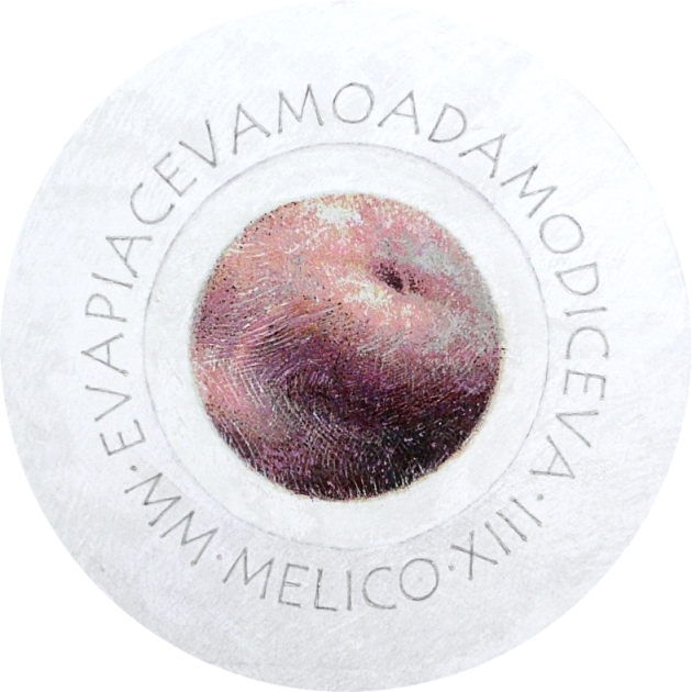 MELICO - pastelli olio e acrilici - ø97