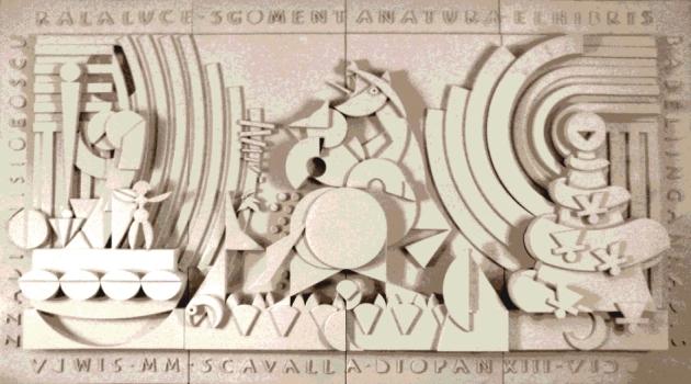 INCULTUM - pannello in resina - cm 400 x 200 h
